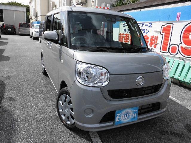 沖縄県の中古車ならムーヴキャンバス 新車 L SAIII ナビ