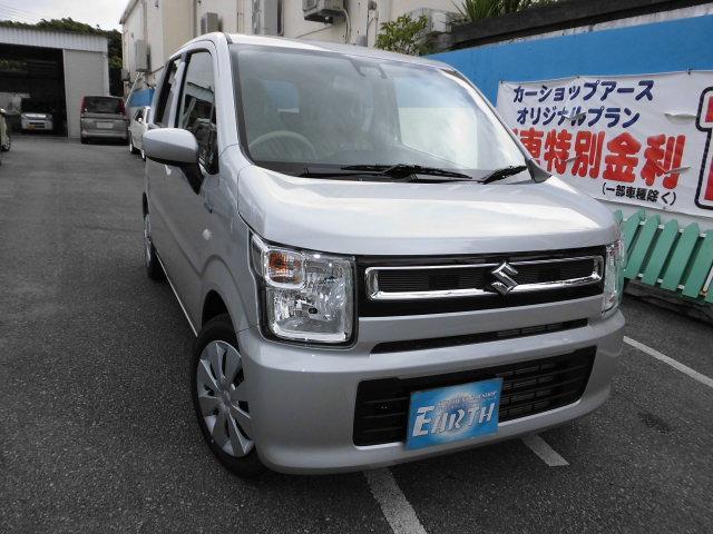 沖縄県の中古車ならワゴンR ハイブリッドFX ナビ