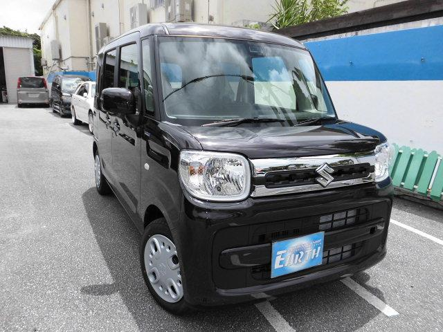 沖縄県の中古車ならスペーシア 新車 新車 ハイブリッドX ナビ ブレーキサポート付