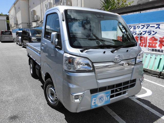 沖縄県の中古車ならハイゼットトラック 新車 エクストラ 5F 4WD ブレーキアシスト付