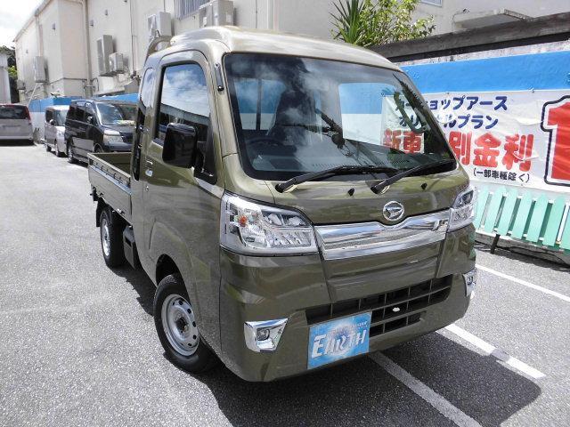 沖縄県の中古車ならハイゼットトラック 新車 ジャンボ 5F 4WD