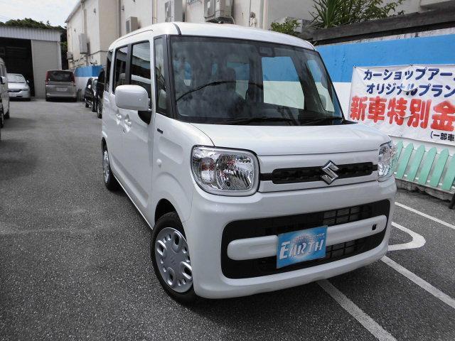 沖縄の中古車 スズキ スペーシア 車両価格 129.8万円 リ未 新車  各色