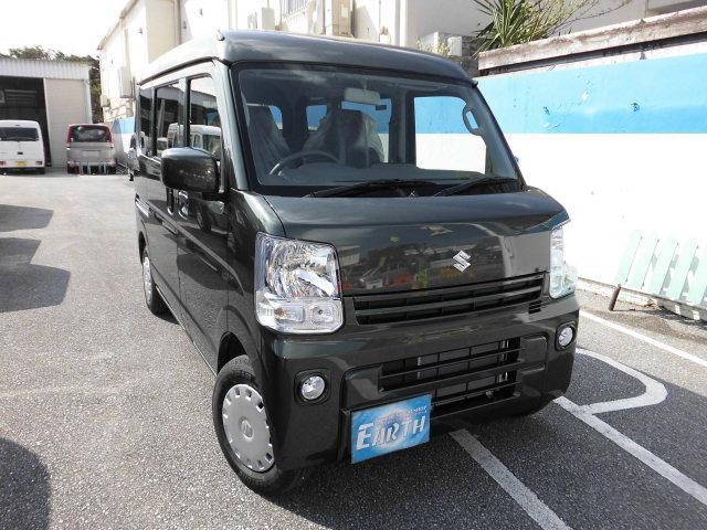 沖縄の中古車 スズキ エブリイ 車両価格 124.5万円 リ済込 新車  ブラック