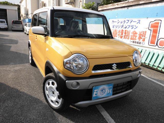 沖縄県の中古車ならハスラー 新車 G AT 2WD ナビ ブレーキサポート付