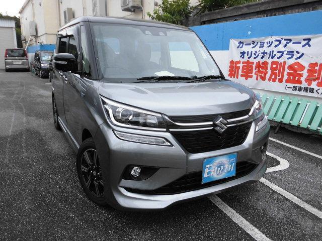 沖縄県の中古車ならソリオバンディット 新車 ハイブリッドMV ナビ ブレーキサポート付