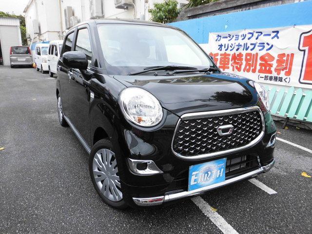 沖縄県の中古車ならキャスト 新車 スタイルX SAIII ナビ