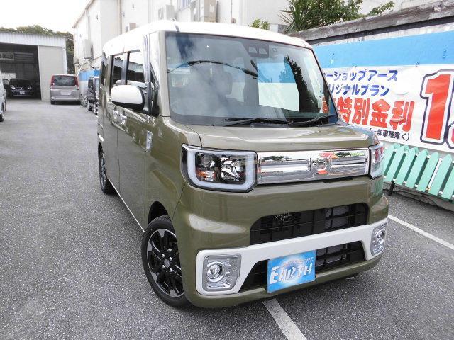 沖縄県の中古車ならウェイク 新車 Gターボリミテッド SAIII ナビ