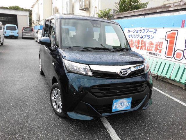 沖縄県の中古車ならトール 新車 X SAIII ナビ
