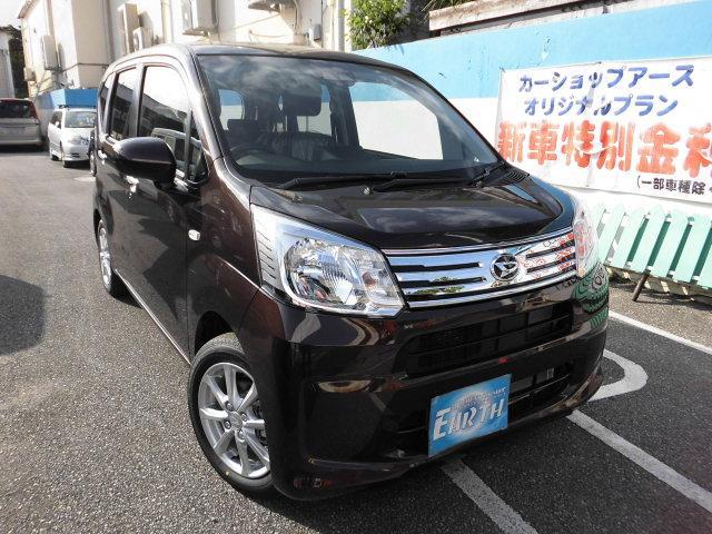 沖縄県の中古車ならムーヴ 新車XリミテッドII SAIII ナビ・TV・バックカメラ