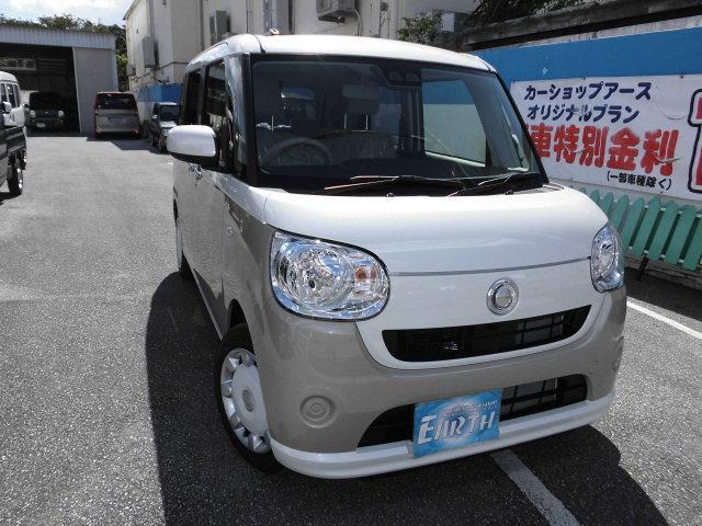 沖縄県の中古車ならムーヴキャンバス 新車 X SAIII  ナビ