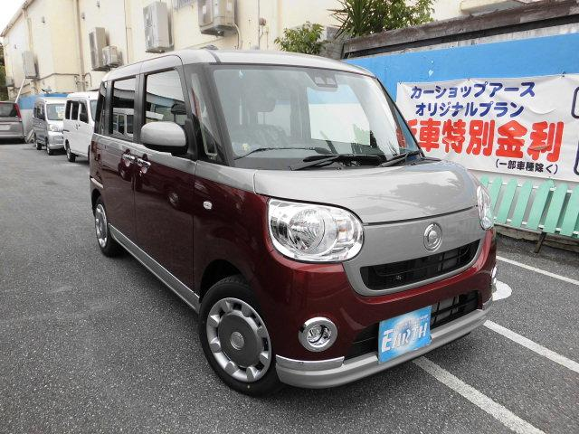 沖縄県の中古車ならムーヴキャンバス 新車XブラックインテリアリミテッドSAIII ナビ・Bカメラ