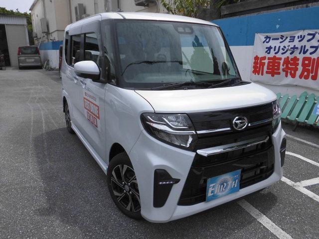 沖縄県の中古車ならタント 新車 カスタムX ナビ・TV