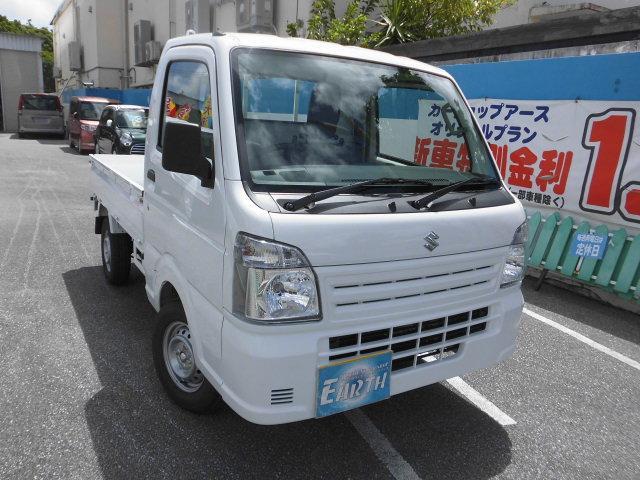 沖縄の中古車 スズキ キャリイトラック 車両価格 86.9万円 リ済込 2021(令和3)年 10km ホワイト