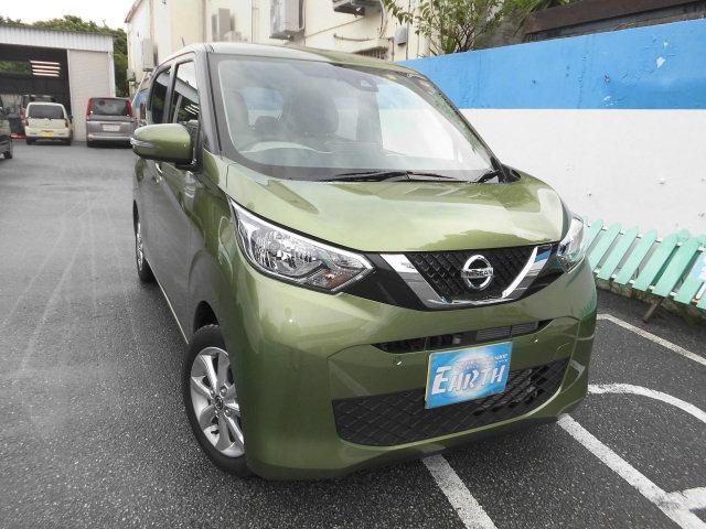 沖縄県の中古車ならデイズ 新車 X ナビ
