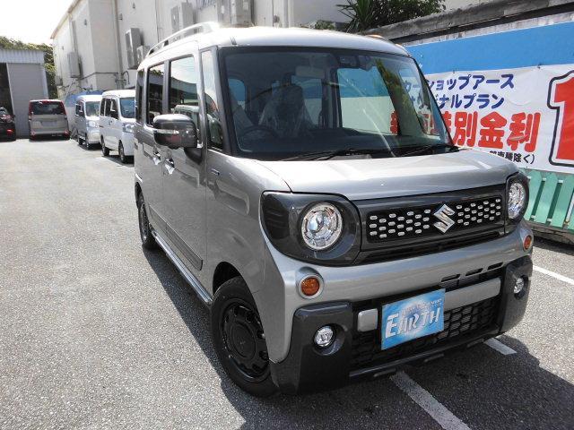 沖縄県の中古車ならスペーシアギア 新車 ハイブリッド XZ ターボ ナビ ブレーキサポート付
