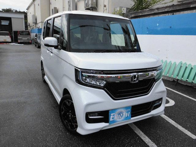 沖縄県の中古車ならN-BOXカスタム 新車 G・Lターボホンダセンシング ナビ