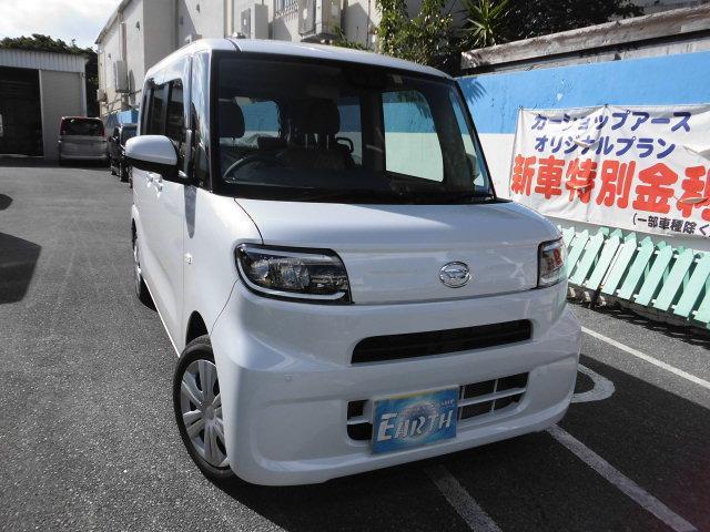 沖縄県の中古車ならタント L ブレーキアシスト ナビ・TV