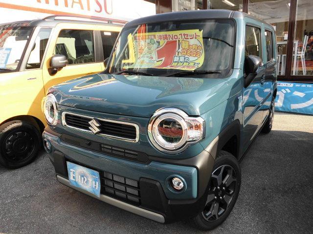 沖縄県中頭郡北谷町の中古車ならハスラー 新車 ハイブリッドX ナビ TV