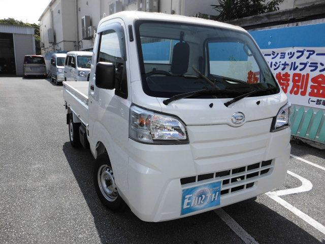 沖縄の中古車 ダイハツ ハイゼットトラック 車両価格 86.2万円 リ済込 新車  ホワイト