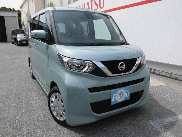沖縄県の中古車ならルークス 新車 X ナビ付