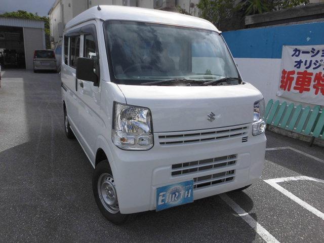 沖縄の中古車 スズキ エブリイ 車両価格 110万円 リ済込 2021(令和3)年 10km ホワイト