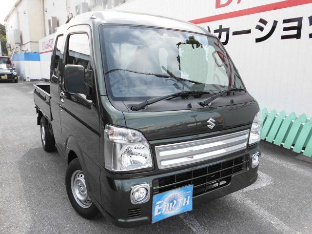 沖縄の中古車 スズキ スーパーキャリイ 車両価格 126.1万円 リ済込 新車  グリーンM