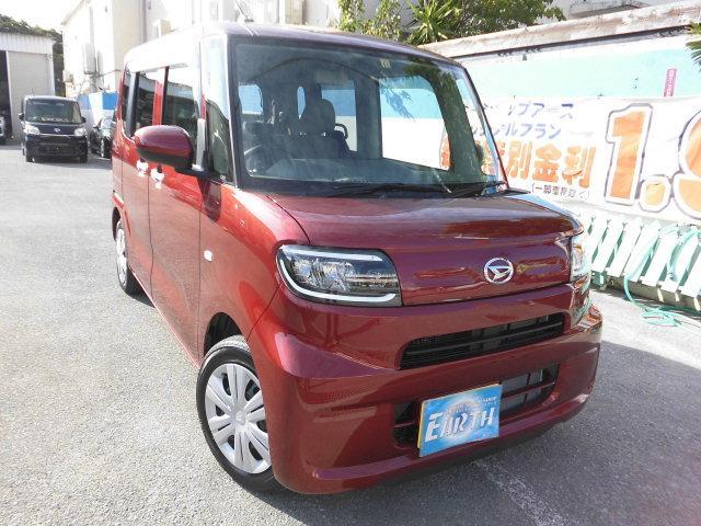 沖縄県の中古車ならタント 新車 L ブレーキアシスト ナビ・TV