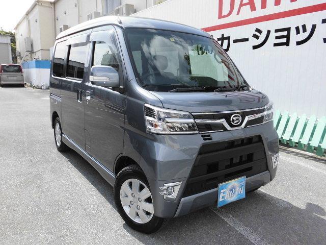 沖縄県の中古車ならアトレーワゴン 新車 カスタムターボ RSリミテッド SAIII ナビ
