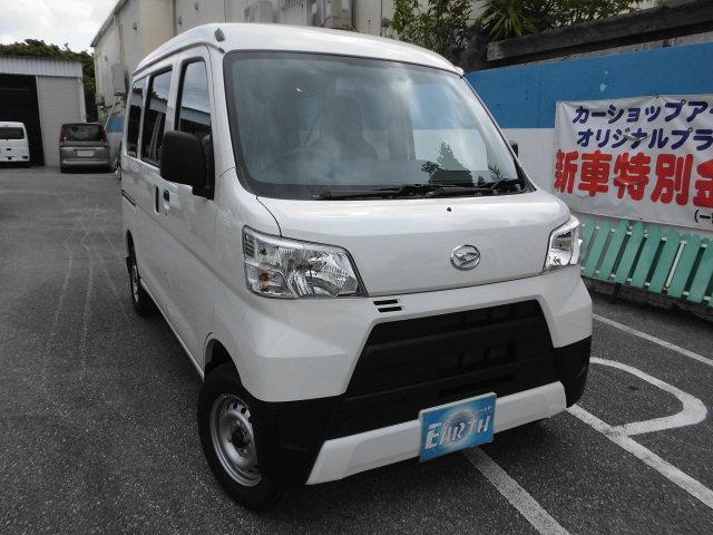 沖縄県中頭郡北谷町の中古車ならハイゼットカーゴ 新車 DX AT 2WD