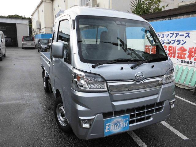 沖縄の中古車 ダイハツ ハイゼットトラック 車両価格 127.3万円 リ済込 新車  シルバーM