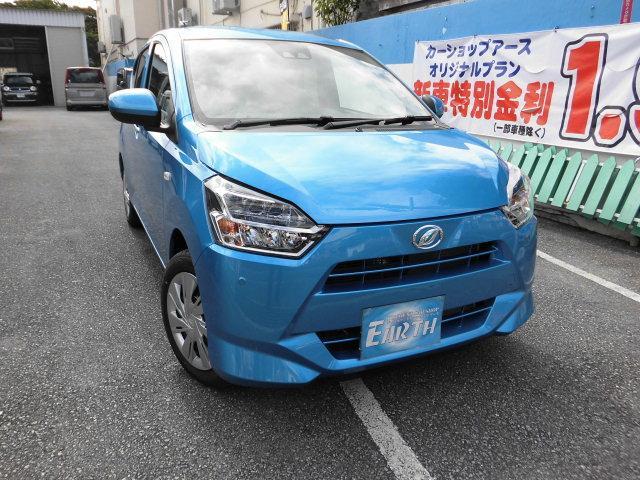 沖縄の中古車 ダイハツ ミライース 車両価格 110万円 リ済込 新車  ブルーM