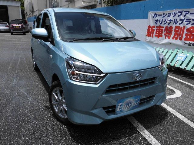 沖縄の中古車 ダイハツ ミライース 車両価格 124.8万円 リ未 新車  シルバー