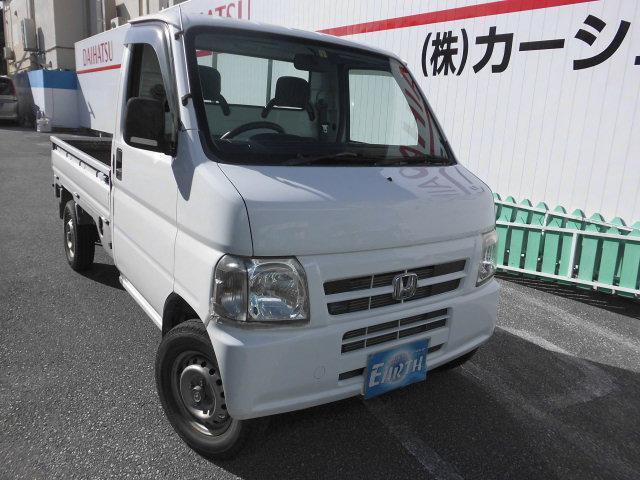 沖縄県の中古車ならアクティトラック SDX 5F 4WD エアコン・パワステ付き