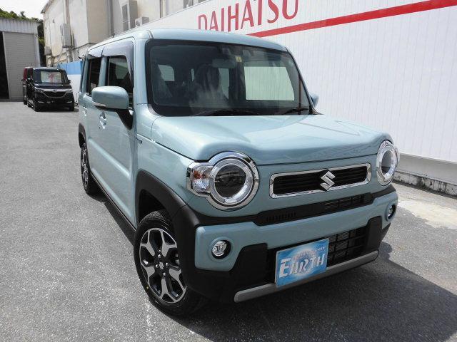 沖縄県の中古車ならハスラー ハイブリッドXターボ 新車 ナビ TV