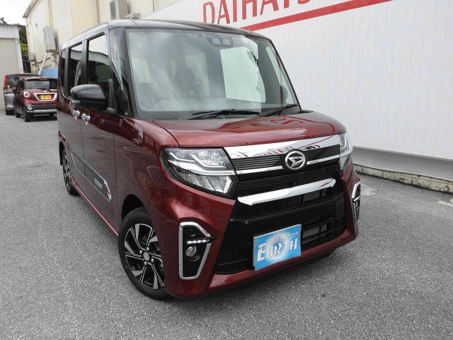 沖縄県の中古車ならタント カスタムX 新車 ナビ・TV