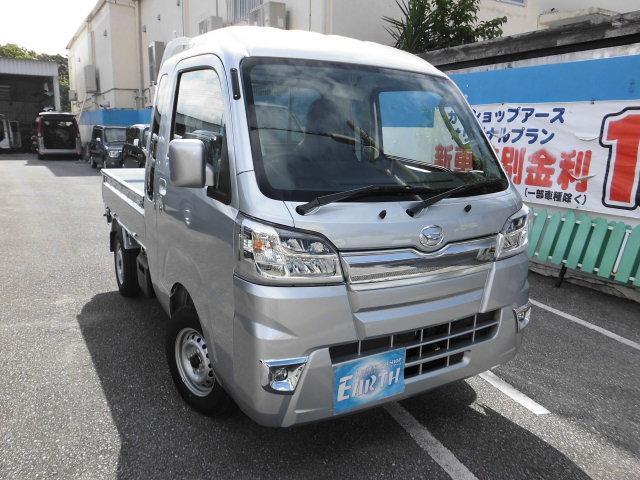 沖縄の中古車 ダイハツ ハイゼットトラック 車両価格 117.6万円 リ済込 新車  シルバーM