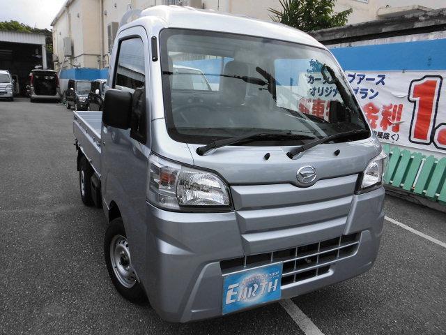 沖縄県中頭郡北谷町の中古車ならハイゼットトラック 新車 ハイルーフ 5F 4WD