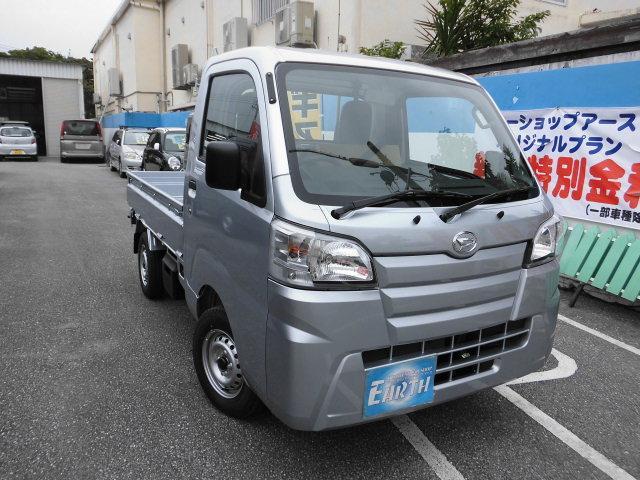 沖縄の中古車 ダイハツ ハイゼットトラック 車両価格 64万円 リ済別 新車  シルバーM