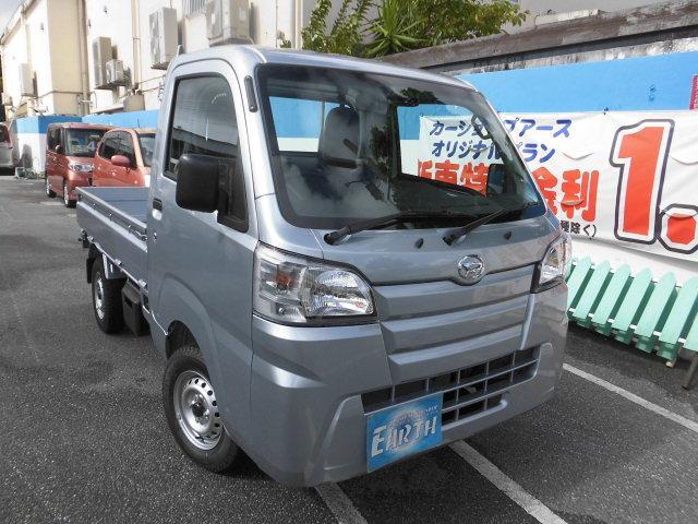 沖縄の中古車 ダイハツ ハイゼットトラック 車両価格 76.5万円 リ済込 新車  シルバーM