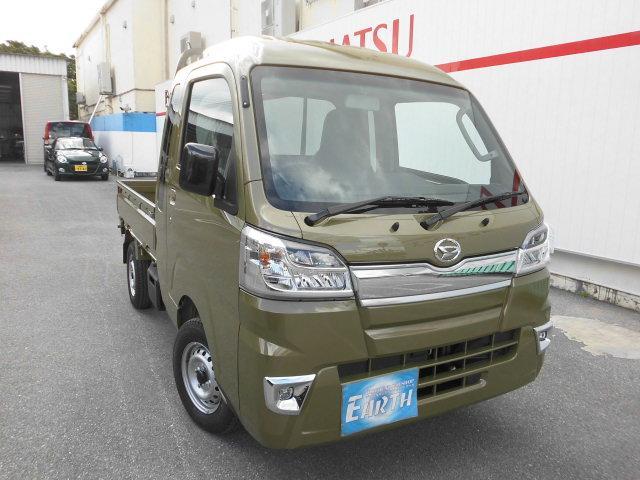 沖縄県中頭郡北谷町の中古車ならハイゼットトラック ジャンボ 新車  AT 2WD