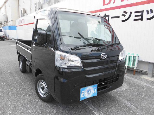 沖縄の中古車 ダイハツ ハイゼットトラック 車両価格 86.2万円 リ済込 2021(令和3)年 10km ブラックM