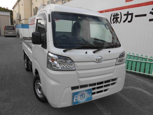 沖縄県中頭郡北谷町の中古車ならハイゼットトラック ハイルーフ 新車 AT 4WD