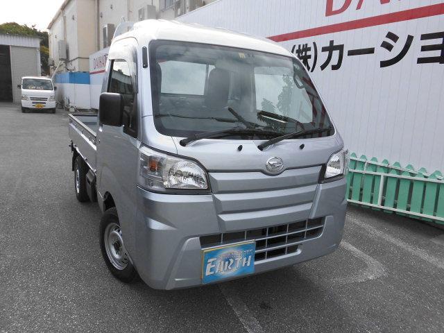 沖縄の中古車 ダイハツ ハイゼットトラック 車両価格 87.4万円 リ済込 2021(令和3)年 10km シルバーM