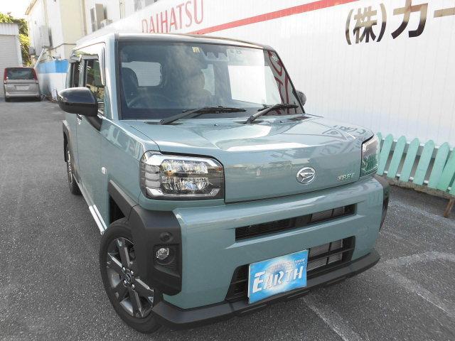 沖縄県の中古車ならタフト Gターボ 新車 ナビ付