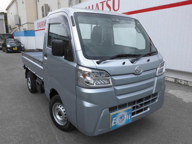 沖縄の中古車 ダイハツ ハイゼットトラック 車両価格 76.5万円 リ済込 2021(令和3)年 10km シルバーM