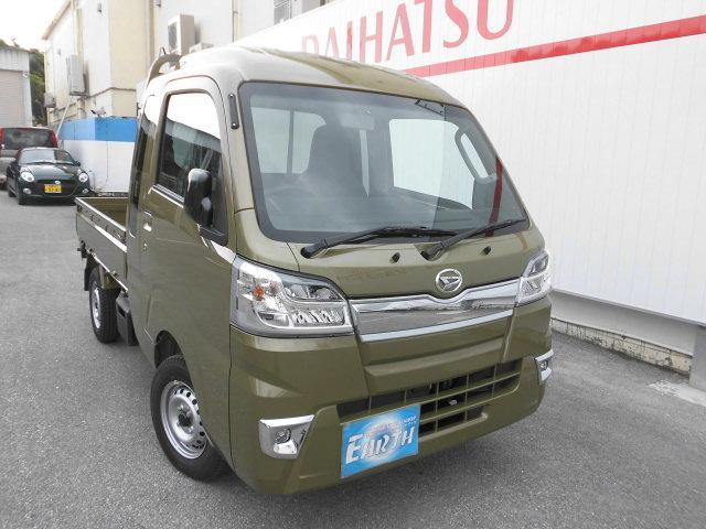 沖縄県中頭郡北谷町の中古車ならハイゼットトラック ジャンボ 新車 AT 4WD