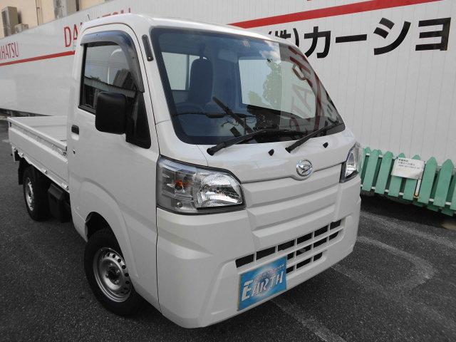 沖縄の中古車 ダイハツ ハイゼットトラック 車両価格 73.7万円 リ済込 2021(令和3)年 10km ホワイト