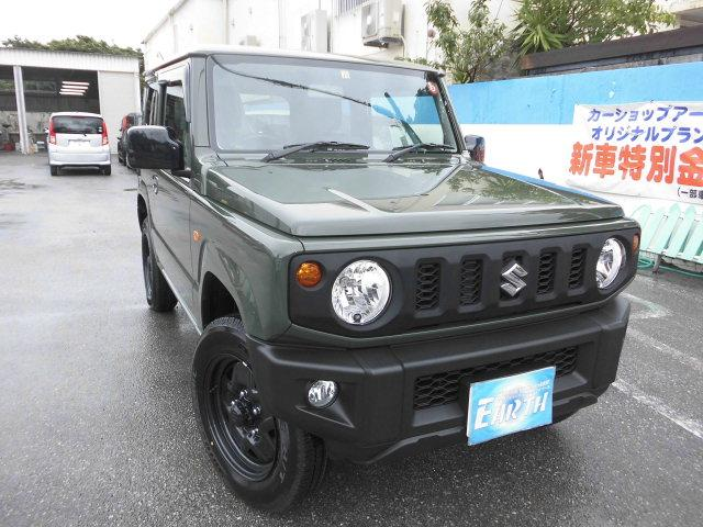 沖縄県中頭郡北谷町の中古車ならジムニー XL 新車 AT 4WD ナビ付