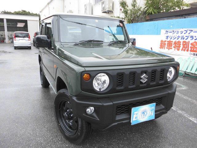 沖縄県の中古車ならジムニー XL 新車 AT 4WD ナビ付