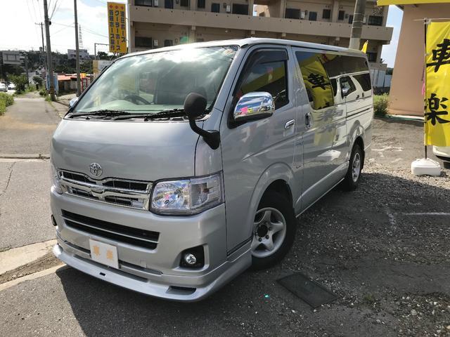 沖縄の中古車 トヨタ ハイエースバン 車両価格 139万円 リ済込 2005(平成17)年 15.3万km シルバーM